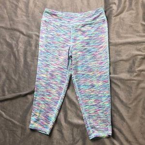 Youth L MTA Sport athletic crop capris leggings